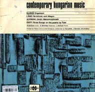Contemporary Hungarian Music