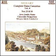 Mozart, Wolfgang Amadeus: Piano Concertos Vol.4, No.23 (K.488) and 24 (K.491)
