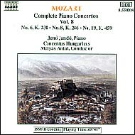 Mozart: Piano Concertos Vol.8, No.6 (K.238), 8 (K.246) and 19 (K.459)