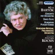 Bartók Béla: Concerto zenekarra; Tánc-szvit; Magyar parasztdalok