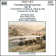 Mozart, Wolfgang Amadeus: Piano Concertos Vol.10, Nos.7 (K.242), 10 (K.365) and 15 (K.450)