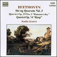 Beethoven vonósnégyesek (összes) 5.