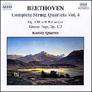 Beethoven vonósnégyesek (összes) 8.