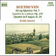 Beethoven vonósnégyesek (összes) 7.