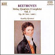 Beethoven vonósnégyesek (összes) 1.