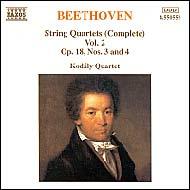 Beethoven vonósnégyesek (összes) 2.