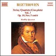 Beethoven vonósnégyesek (összes) 3.