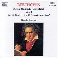 Beethoven vonósnégyesek (összes) 4.