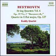 Beethoven vonósnégyesek (összes) 6.