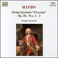 Haydn vonósnégyesek Op.50 No.1-3