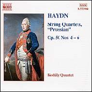 Haydn vonósnégyesek Op.50 No.4-6