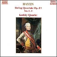 Haydn vonósnégyesek Op.54. No.1-3