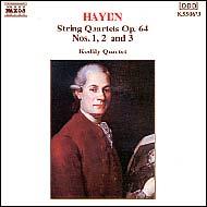 Haydn vonósnégyesek Op.64 No.1-3