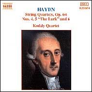Haydn vonósnégyesek Op.64 No.4-6