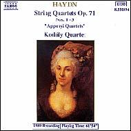 Haydn vonósnégyesek Op.71