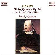 Haydn vonósnégyesek Op.74 No.1-3