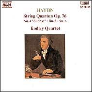 Haydn vonósnégyesek Op.76 No.4-6
