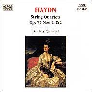 Haydn vonósnégyesek Op.77 No.1-2