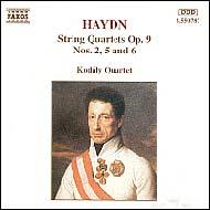 Haydn vonósnégyesek Op.9 No.2,5,6
