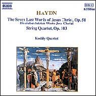 Haydn vonósnégyesek Op.103; Op.51
