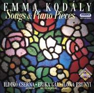 Kodály Emma: Dalok és Zongoradarabok