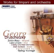 Druschetzky, Georg: Zeneművek üstdobra és zenekarra