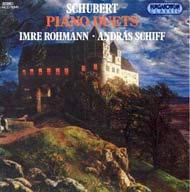 Schubert, Franz: Zongorakettősök