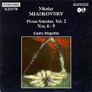 Mjaszkovszkij, Nyikolaj: Zongoraszonáták VI-IX.