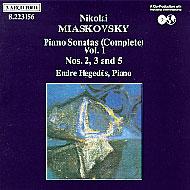 Mjaszkovszkij, Nyikolaj: Zongoraszonáták II., III. és V.