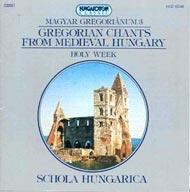 Magyar gregoriánum 3. - Gregorián és polifonikus énekek a középkori Magyarországról - Nagyhét
