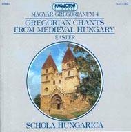 Magyar gregoriánum 4. - Gregorián és polifonikus énekek a középkori Magyarországról - Húsvét