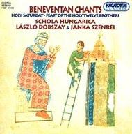 Beneventán énekek - Nagyszombat; A Tizenkét Szent Testvér ünnepe