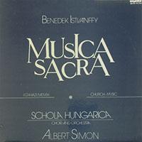 Istvánffy Benedek: Musica Sacra - Egyházi művek