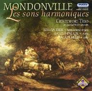 Mondonville : 'Les sons harmoniques' Op.4 - Szonáták szólóhegedűre basso continuóval