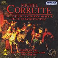 Corrette, Michel: Pieces pour la Vielle ou Musette, Flute et Basse Continue