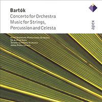 Bartók Béla: Concerto zenekarra; Zene húros hangszerekre, ütőkre és cselesztára