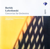 Bartók Béla: Concerto zenekarra; Lutoslawski: Concerto zenekarra