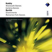 Kodály Zoltán: Marosszéki táncok; Galántai táncok / Bartók: Divertimento; Román népi táncok