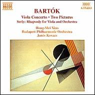 Bartók Béla: Brácsaverseny; Két kép Sz.46; Brácsaverseny Sz.120 / Serly Tibor: Rapszódia brácsára és zenekarra