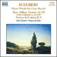 Schubert: Négykezes zongoraművek II.