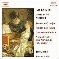 Mozart, W. A.: Zongoraduók I.