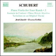 Schubert, Franz: Négykezes zongoraművek III.