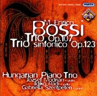 Bossi, Marco Enrico: d-moll trió Op.107; Szimfonikus trió Op.123