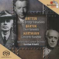 Britten, Benjamin: Variations on a Theme of Frank Bridge / Hartmann: Concerto funebre / Bartók: Divertimento