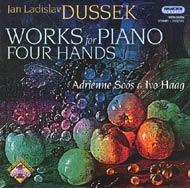 Dussek, Jan Ladislav: Négykezes zongoraművek