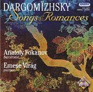 Dargomizhsky, A.S.: Dalok és románcok