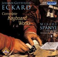 Eckard, Johann Gottfried: Művek billentyűs hangszerekre