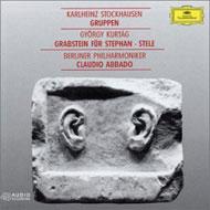 Kurtág György: Grabstein Für Stephan; Stele; Stockhausen: Gruppen