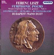 Liszt Ferenc: Szimfonikus költemények -  kétzongorás átiratok I.