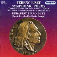 Liszt Ferenc: Szimfonikus költemények - kétzongorás átiratok IV.
